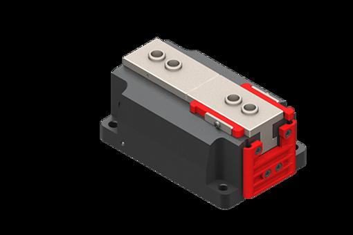 Bild von Selbstzentrierender, pneumatischer Parallelgreifer, normal geschlossen, 4/8 bar, M3/M5 - MGX4015-NC