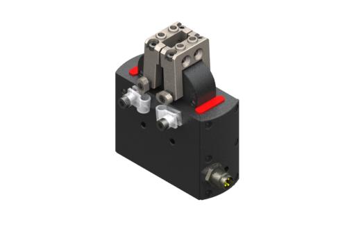Selbstzentrierender elektrischer Radialgreifer, 24Vdc, 6W, IO-Link, M8 4-polig, Spitze 0,9A, DC-Servomotor mit integrierter Steuerung, Max. 0,85 Hz bei 30°C, IP54, mit Buchsen - MPRM1690IOL