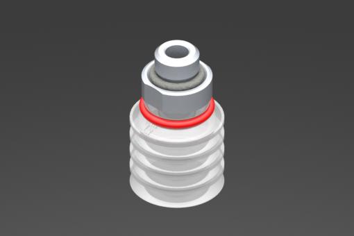 Изображение Присоска VG.FP20, силикон, соответствующий требованиям FDA, твердость 50 по Шору, G1/8″ нар. резьба - 2322072