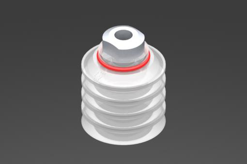 Изображение Присоска VG.FP40, силикон, соответствующий требованиям FDA, твердость 50 по Шору, G1/8″ внутр. резьба - 2322080
