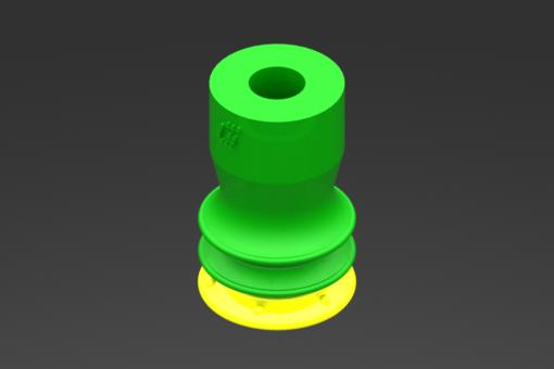 Изображение Присоска VG.GX10P, полиуретан, твердость 30/60 по Шору - 1010000
