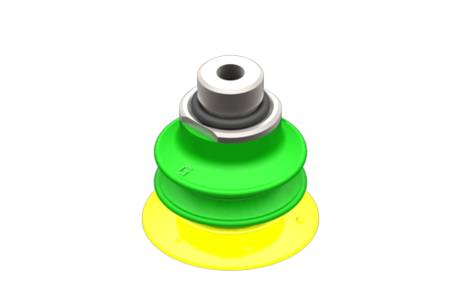 Picture of VG.GX25P suction cup, polyurethane, 30/60 Shore, with internal filter, G1/8″ male / M5 female - 2510016