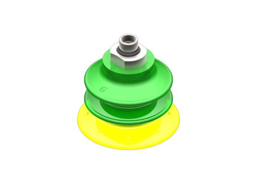 Picture of VG.GX52P suction cup, polyurethane, 30/60 Shore, with internal filter, G1/8″ male - 5210018