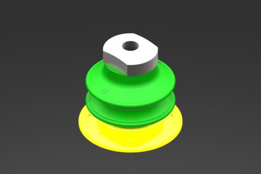 Изображение Присоска VG.GX52P, полиуретан, твердость 30/60 по Шору, с внутренним фильтром, G1/8″ внутр. резьба - 5210019