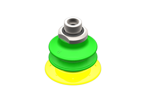 Изображение Присоска VG.GX52P, полиуретан, твердость 30/60 по Шору, с внутренним фильтром, G3/8″ нар. резьба - 5210038