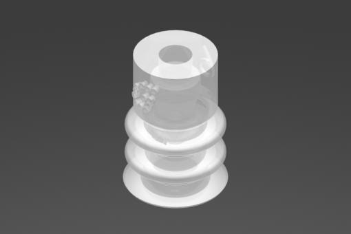 Picture of VG.LB6 suction cup, FDA-compliant silicone, 50 Shore - 2321734