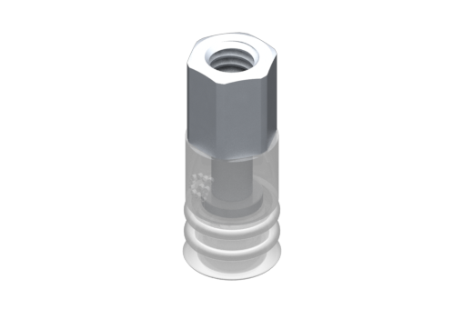 Imagen de Ventosa VG.LB9 Silicona FDA 50 Shore, M5 Hembra, Hexágono 8 mm - 2321735