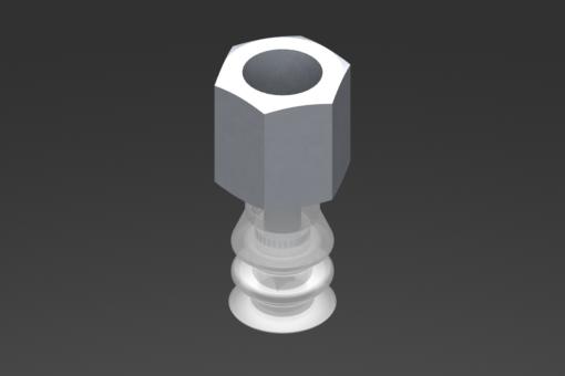 Imagen de Ventosa VG.LB11 Silicona FDA 50 Shore, G1/8″ Hembra, Hexágono 13 mm - 2321743