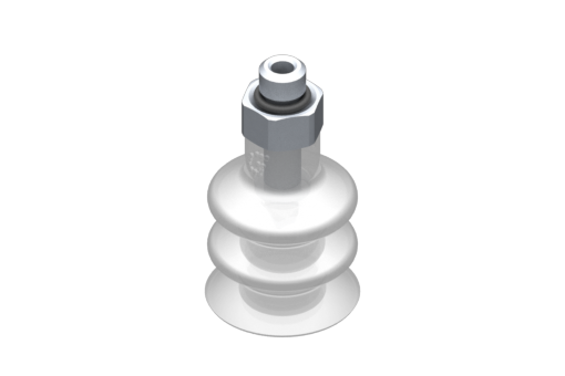 Picture of VG.LB16 suction cup, FDA-compliant silicone, 50 Shore, M5 male, 8 mm hex - 2321747