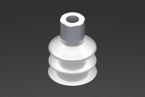 Imagen de Ventosa VG.LB33 Silicona FDA 50 Shore, G1/8″ Hembra, Hexágono 16 mm - 2321760