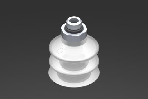 Obrázek z Přísavka VG.LB33, silikon odpovídající FDA, 50 Shore, G1/8″ vnější závit, 16 mm šestihr. - 2321761