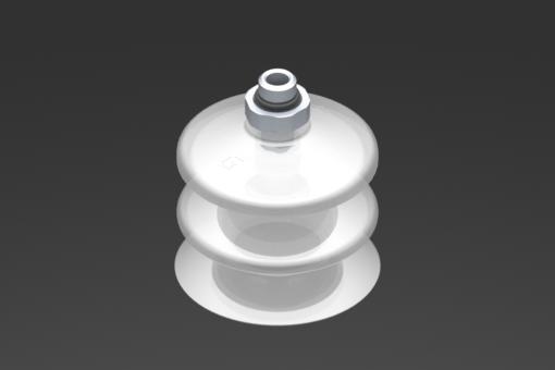 Снимка на Вакуумна вендуза VG.LB53, от съвместим с FDA силикон, с твърдост 50 единици по Шор, с външна резба G1/8″, шестостен 16 мм - 2321775