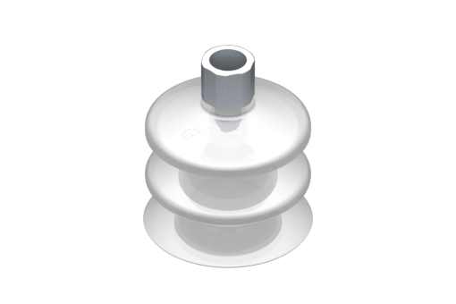 Picture of VG.LB53 suction cup, FDA-compliant silicone, 50 Shore, G1/4″ female, 16 mm hex - 2321776