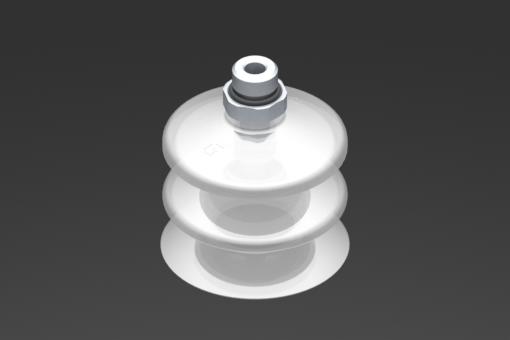 Снимка на Вакуумна вендуза VG.LB53, от съвместим с FDA силикон, с твърдост 50 единици по Шор, с външна резба G1/4″, шестостен 17 мм - 2321777