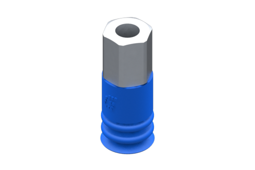 Obrázek z Přísavka VG.LB9, HNBR, 60 Shore, M5 vnitřní závit, 8mm šestihr. - 2321832