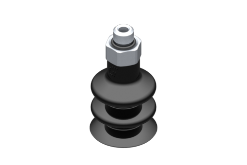 Picture of VG.LB16 suction cup, NBR, 50 Shore, M5 male, 8 mm hex - 2321850