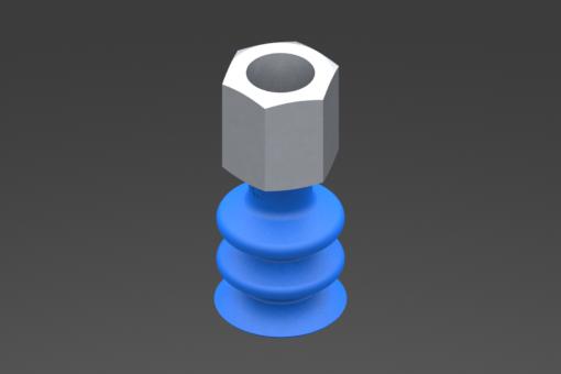 Изображение Присоска VG.LB16, HNBR, твердость 60 по Шору, G1/8″ внутр. резьба, шестигранник 13 мм - 2321856