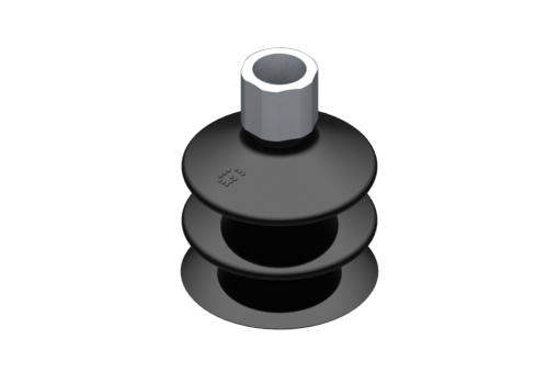 Picture of VG.LB42 suction cup, NBR, 50 Shore, G1/4″ female, 16 mm hex - 2321891