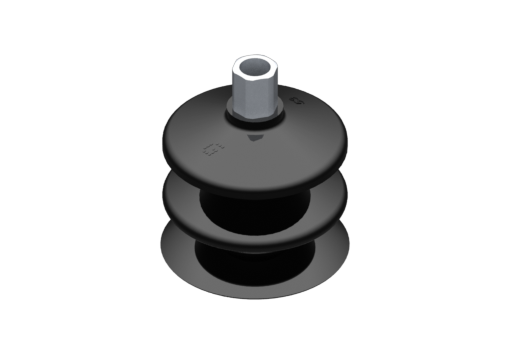 Picture of VG.LB53 suction cup, NBR, 50 Shore, G1/8″ female, 12 mm hex - 2321900