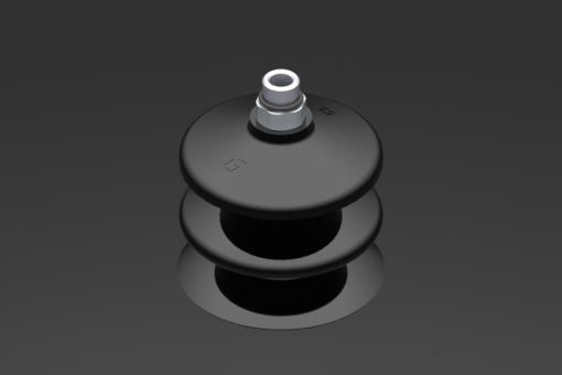Изображение Присоска VG.LB53, NBR, твердость 50 по Шору, G1/8″ нар. резьба, шестигранник 12 мм - 2321902