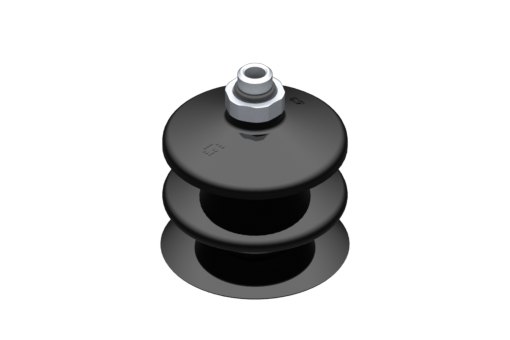 Picture of VG.LB53 suction cup, NBR, 50 Shore, G1/8″ male, 16 mm hex - 2321904