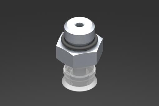 Picture of VG.U11 szívókorong, FDA-szabványos szilikon, 50 Shore, G1/8″ apa, 13 mm hatszög - 2321413