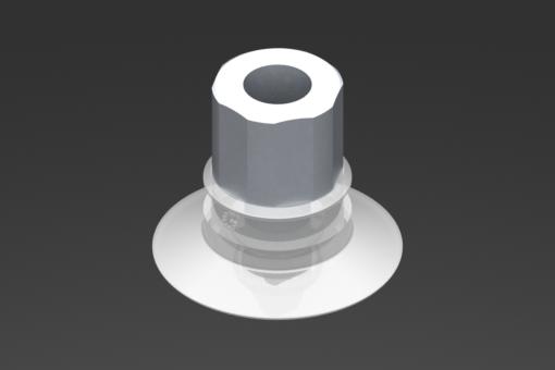 Obrázek z Přísavka VG.U33, silikon odpovídající FDA, 50 Shore, G1/8″ vnitřní závit, 16 mm šestihr. - 2321436