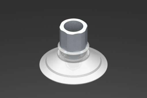 Изображение Присоска VG.U42, силикон, соответствующий требованиям FDA, твердость 50 по Шору, G1/4″ внутр. резьба, шестигранник 16 мм - 2321445