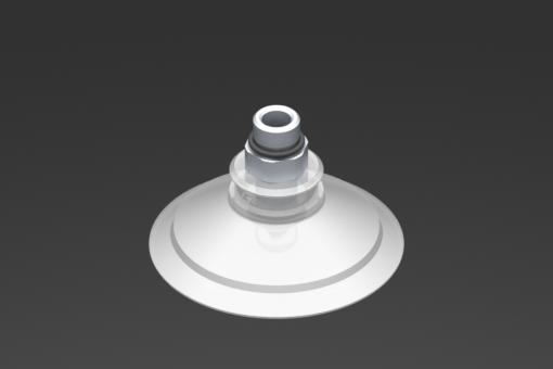 Imagen de Ventosa VG.U53 Silicona FDA 50 Shore, G1/8″ Macho, Hexágono 12 mm - 2321449