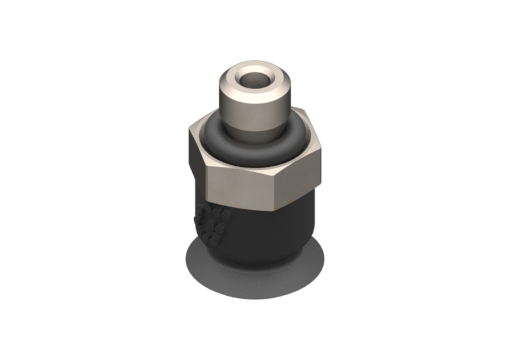 Picture of VG.U6 suction cup, EPDM, 50 Shore, M3 male, 5 mm hex - 2321454