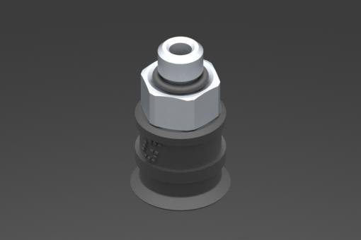 Изображение Присоска VG.U11, EPDM, твердость 50 по Шору, M5, нар. резьба, шестигранник 8 мм - 2321464