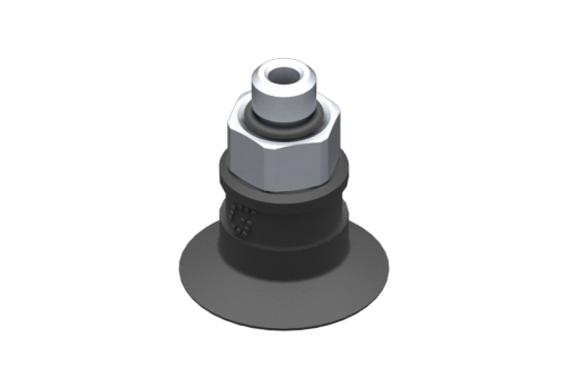 Picture of VG.U16 suction cup, EPDM, 50 Shore, M5 male, 8 mm hex - 2321474
