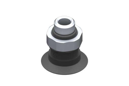 Picture of VG.U22 suction cup, EPDM, 50 Shore, G1/8″ male, 16 mm hex - 2321486