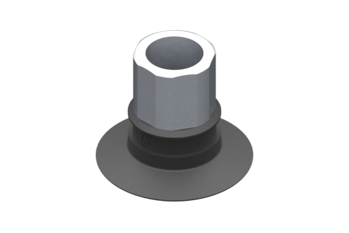 Picture of VG.U33 suction cup, EPDM, 50 Shore, G1/4″ female, 16 mm hex - 2321501