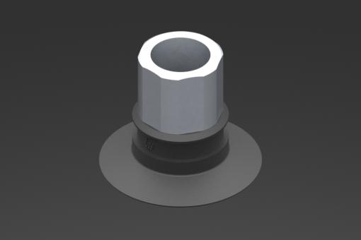 Изображение Присоска VG.U33, EPDM, твердость 50 по Шору, G1/4″ внутр. резьба, шестигранник 16 мм - 2321501