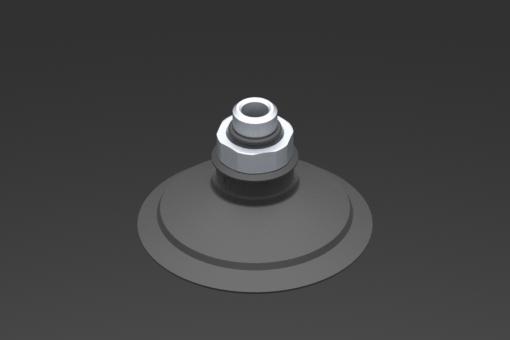Picture of VG.U53 szívókorong, EPDM, 50 Shore, G1/8″ apa, 16 mm hatszög - 2321528