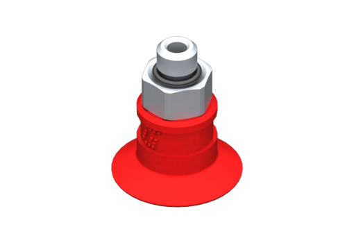 Изображение Присоска VG.U16 силиконовая, твердость 50 по Шору, M5, нар. резьба, шестигранник 8 мм - 2321664