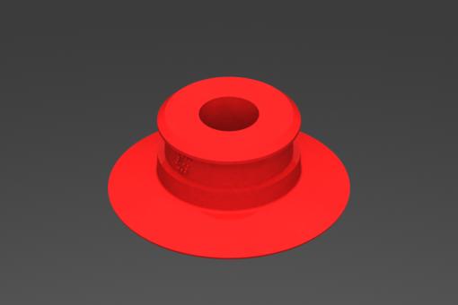 Изображение Присоска VG.U33 силиконовая, твердость 50 по Шору - 2321675