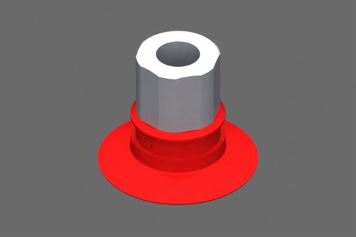 Изображение Присоска VG.U33, силикон, твердость 50 по Шору, G1/8″ внутр. резьба, шестигранник 16 мм - 2321677