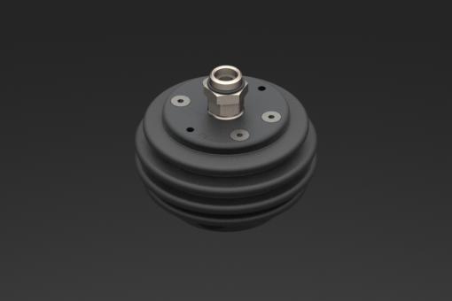 Imagen de Junta articulada para suspensiones G1/4 y G3/8 con freno neumático M5, 1-8 bar, normalmente abierto con fuelle en NBR - 9900042