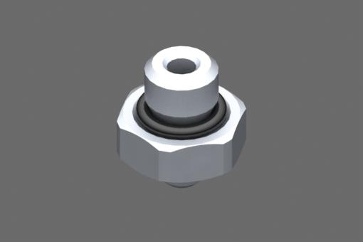 Image sur Raccord M5 mâle, hexagone 8 mm - 2321005