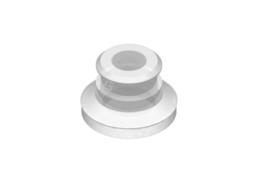 Picture of VG.U22 suction cup in FDA-compliant silicone, 50 Shore, with ring in silicone foam - 0321421