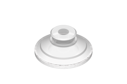 Picture of VG.U42 suction cup in FDA-compliant silicone, 50 Shore, with ring in silicone foam - 0321441