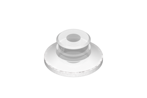 Picture of VG.U33 suction cup in FDA-compliant silicone, 50 Shore, with ring in silicone foam - 0321434