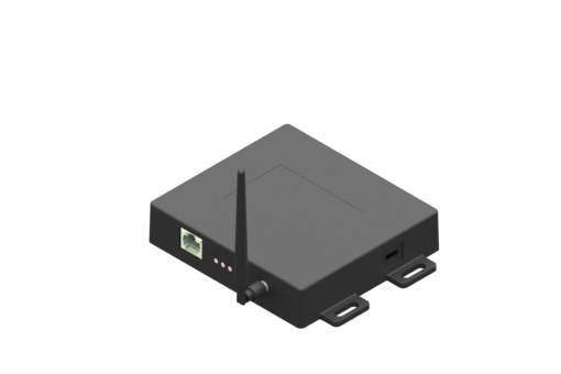 Изображение GATEWAY monitoraggio stampi connessione POE, nero, leva meccanica, con antenna 868 MHz - MLD-G001