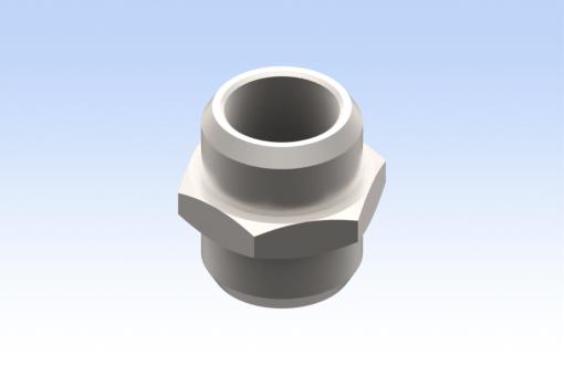 Изображение Цилиндрический ниппель, G1/2 (10 шт.) - RG.02010000105NB