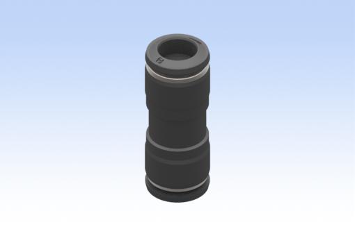 Image sur Raccord droit intermédiaire, diamètre tube 10 mm, tube 10 mm (10 pièces) - RG.5504000006