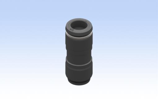 Imagen de Racor recto intermedio, diámetro tubo 12 mm, tubo 10 mm (10 pzs) - RG.5504000012
