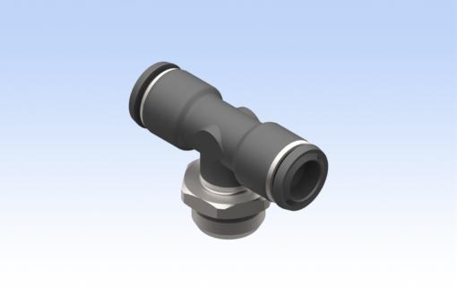 Image sur Raccord en T orientable, mâle G1/2, diamètre tube 12 mm (10 pièces) - RG.5521600026