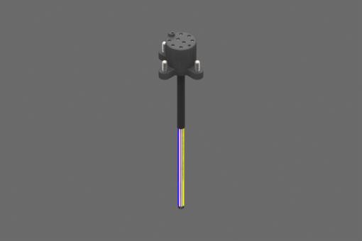 Image sur Module pour EQC05, 1 câble 8 pôles, côté A, 8 contacts à ressorts autonettoyants - RMAQC05